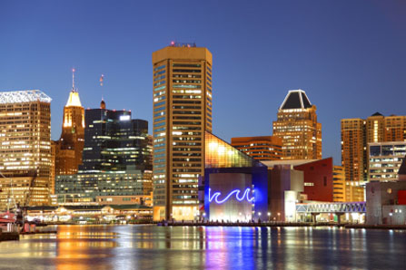 International moving services to Baltimore