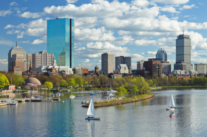 International moving services to Boston