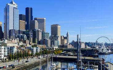 International moving services to Seattle