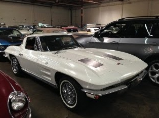 shipping white corvette to norway