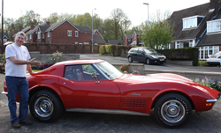red corvette stingray