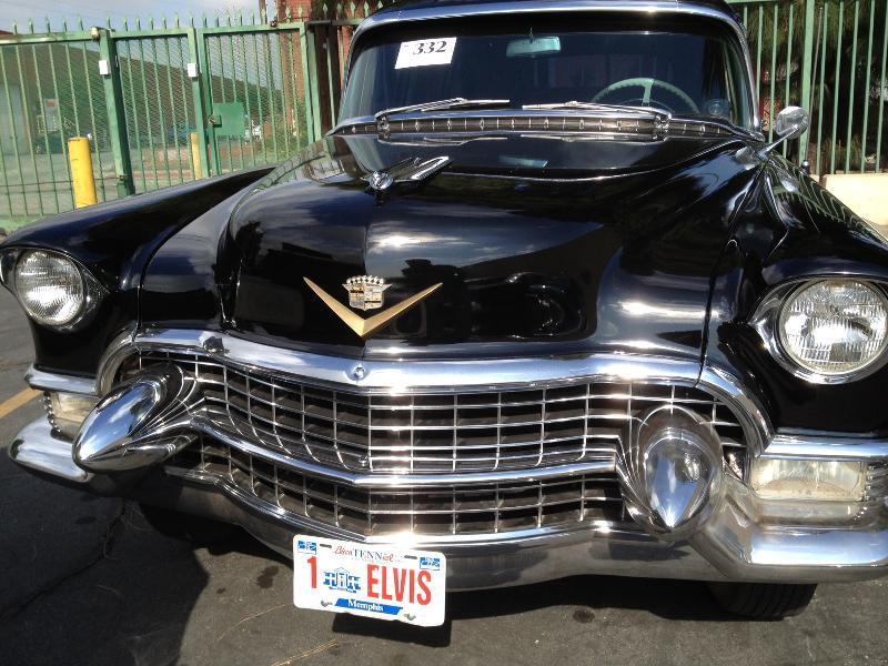 Image of Elvis Presley Classic Cadillac- by Schumacher Cargo Logistics