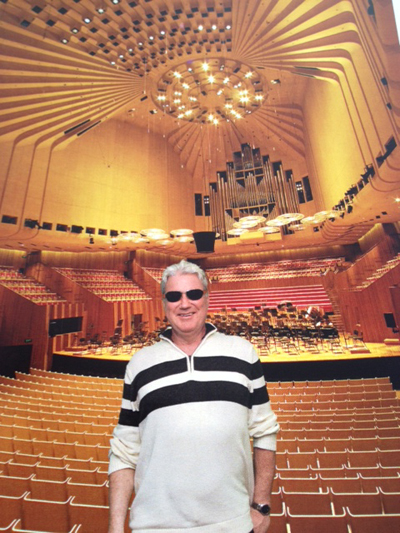 At the Sydney Austrlai Opera House- image by Schumacher Cargo Logistics