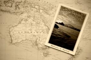 Welcome to Australia vintage postcard- image by Schumacher Cargo Logistics
