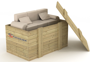 Furniture Packing- Image by Schumacher Cargo