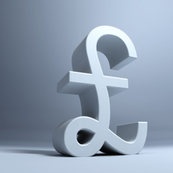 Image of English currency