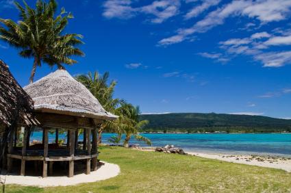 Image of a Samoan Beach Hut