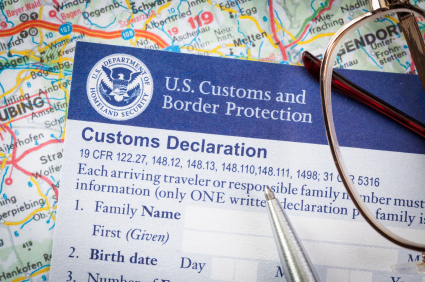 guide on how to fill a customs form declaration