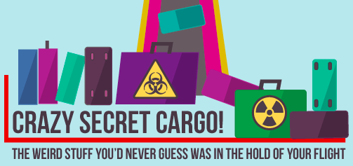 Guess what cargo flies under you? Bodies and more.