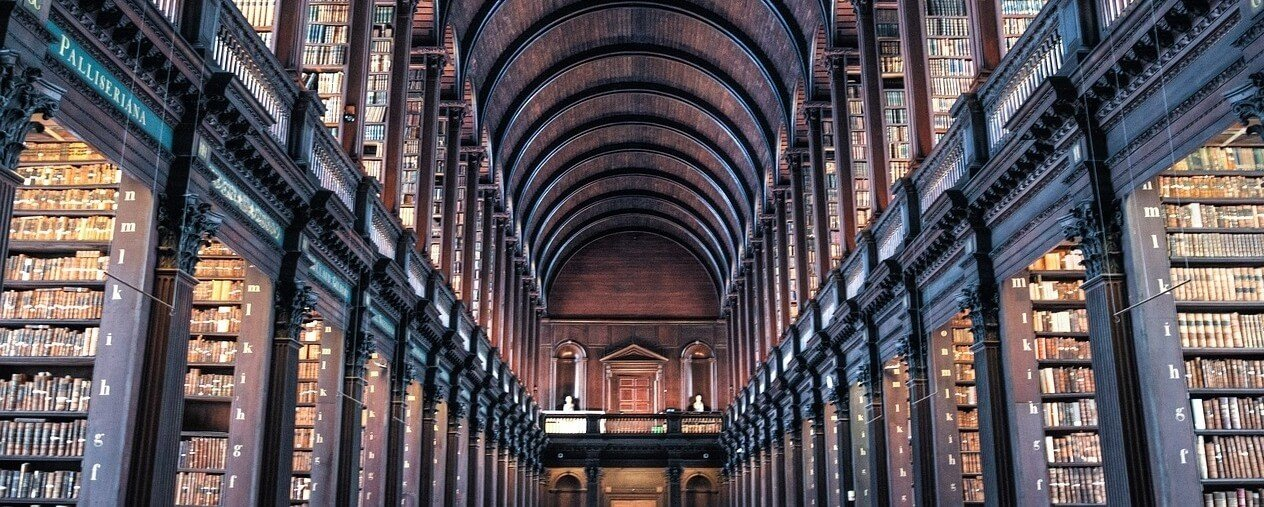 Best Colleges in Ireland Trinity College Library