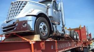 shipping a semi truck