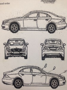 auto inspection sheet
