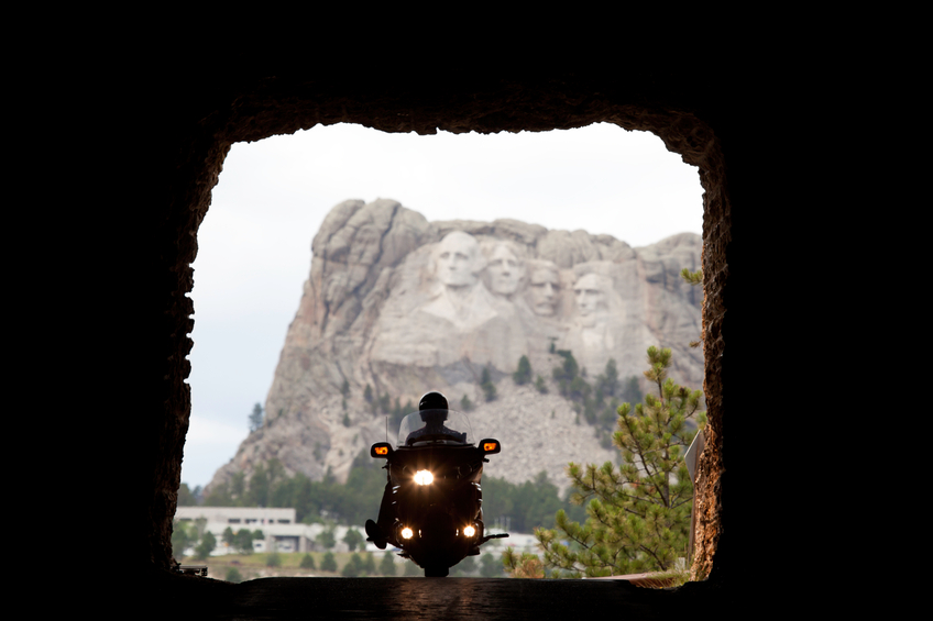 Tunnel View of Mt. Rushmore
