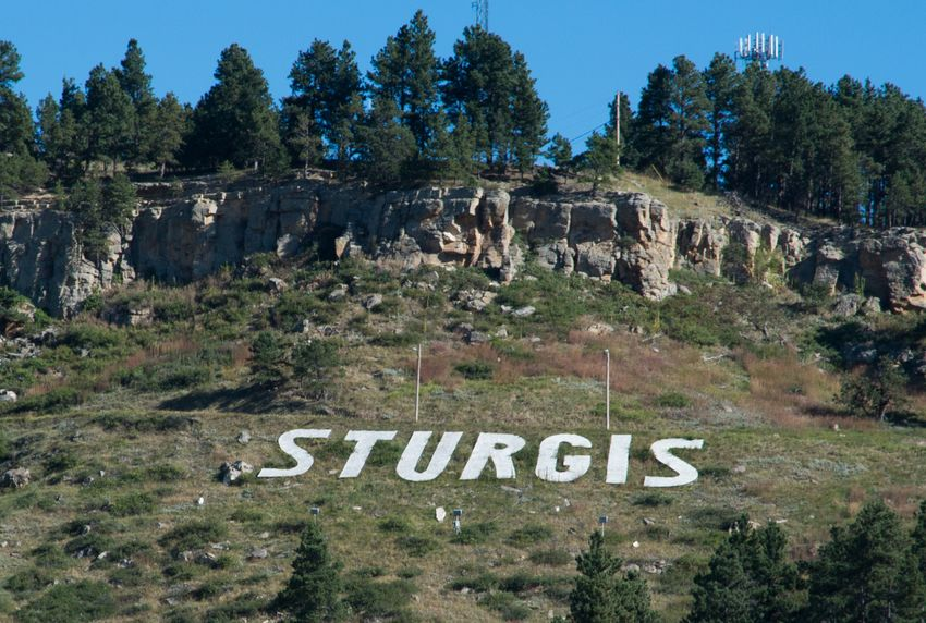 Sturgis Mountainside Near Motorcycle Rally