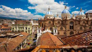 Ecuador City Building Tops