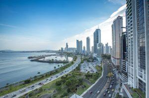 Panama City Skyscraper Skyline