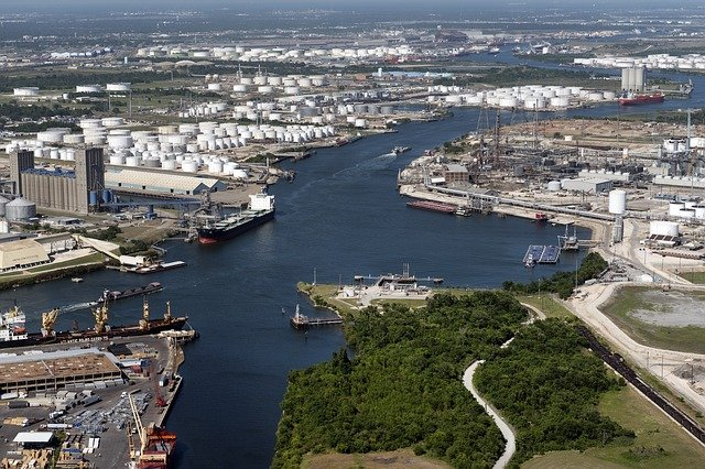 Port of Houston at the Houston Ship Channel