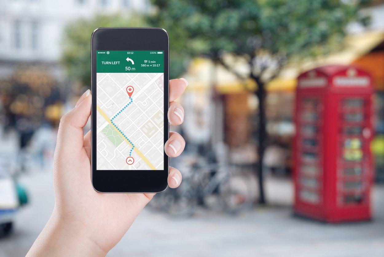 Map App for Overseas
