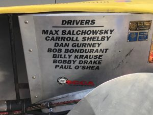 Old Yeller II Drivers Plaque