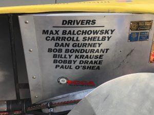 Old Yeller II Drivers Plaque