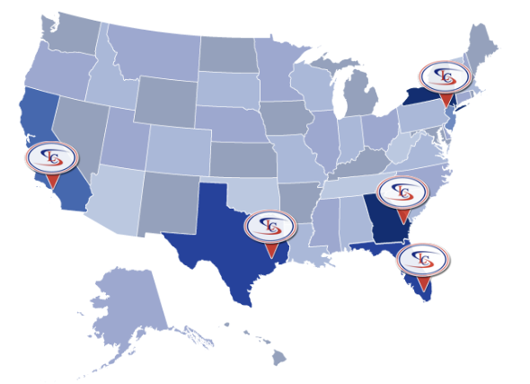 Schumacher Cargo Locations in the USA