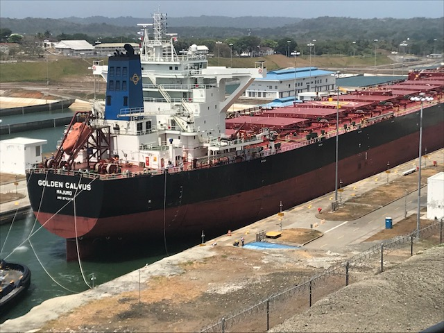 Crossing the Panama Canal can cost between $200k and $1m