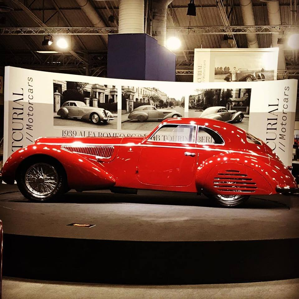 The 1939 Alfa Romeo 8C 2900B Touring Berlinetta at Retromobile 2019