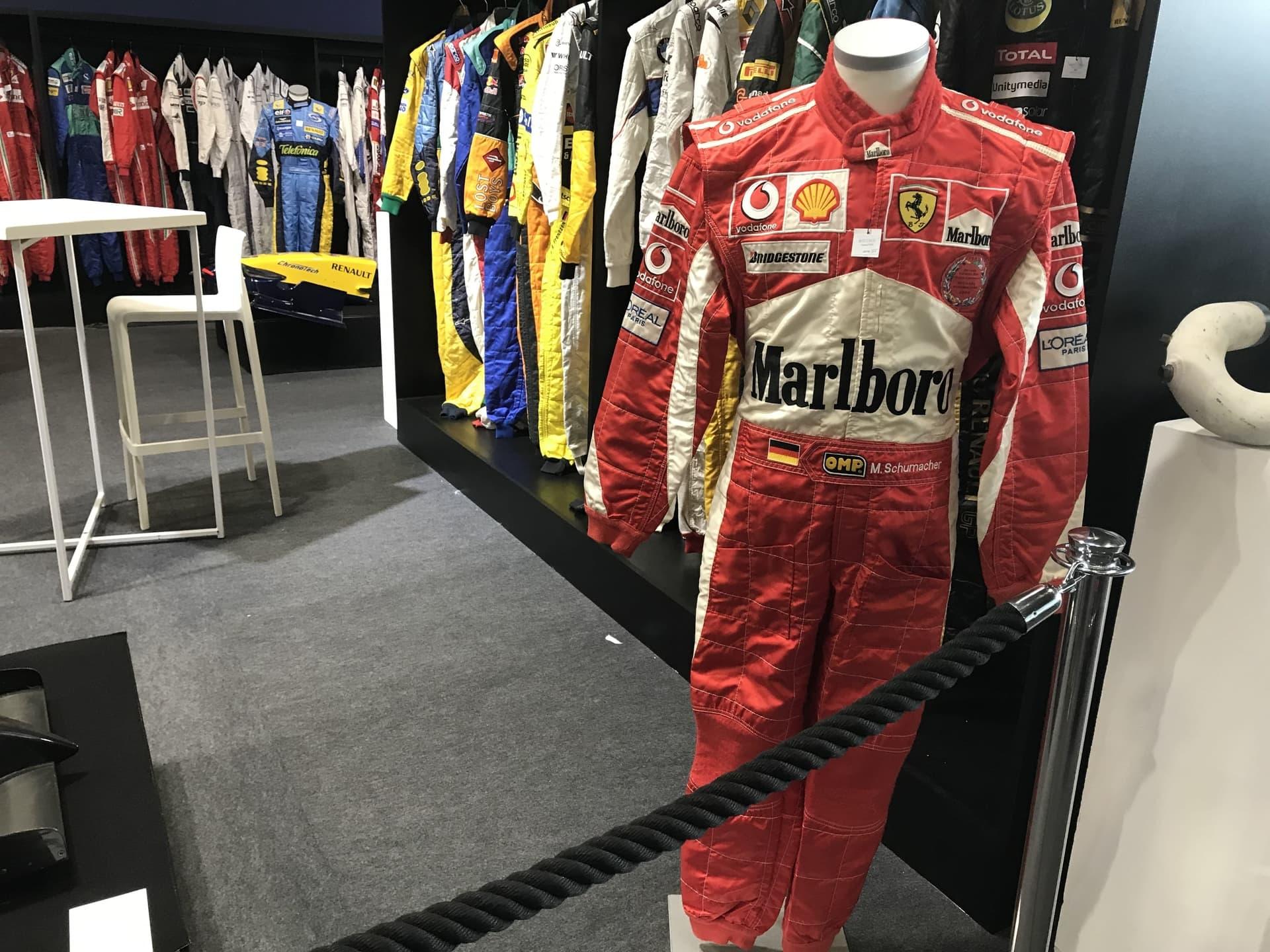 Race Suits for the Artcurial Vibration Auction