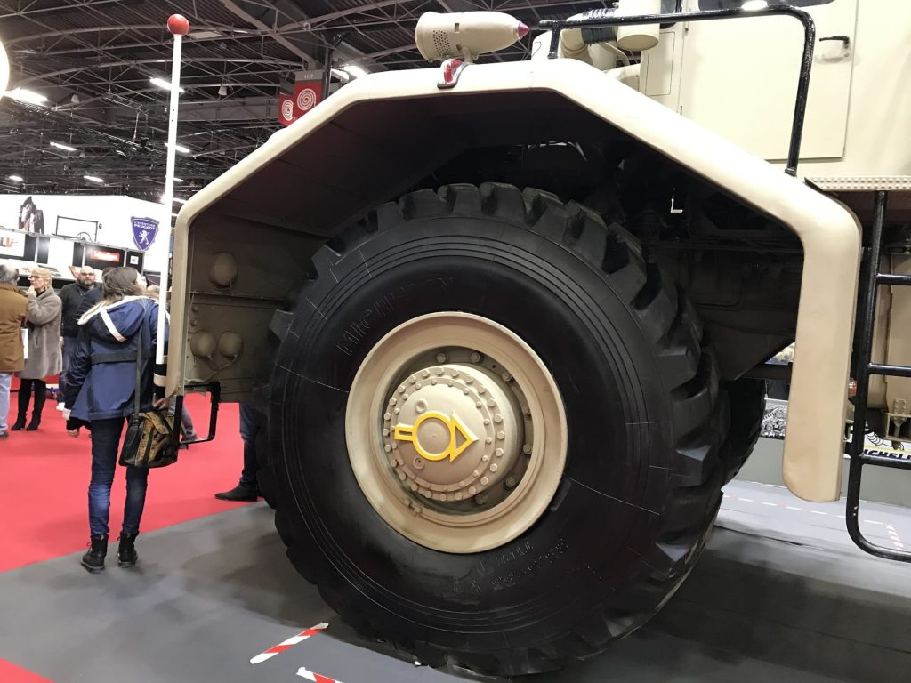 These massive tires are bigger than people
