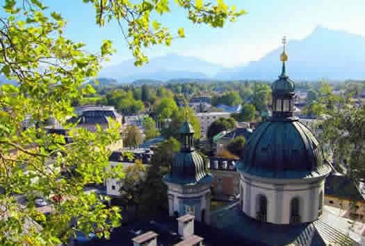 Moving to Austria: Beautiful Vienna Skyline