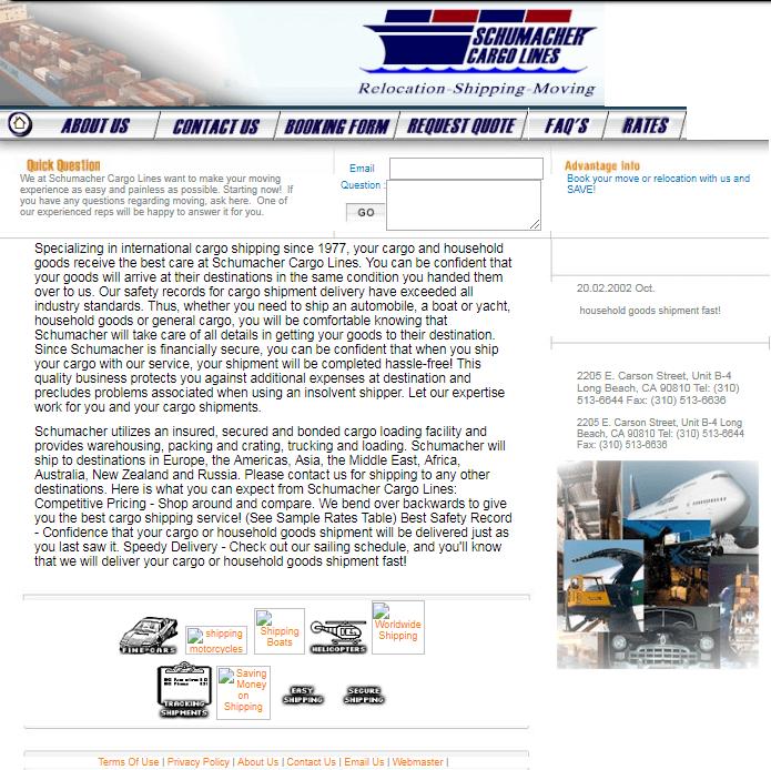 Website2003-11-22