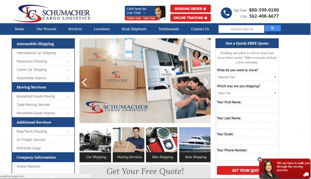 Schumacher Webpage 2018