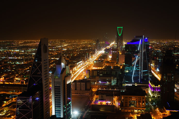 Moving to Saudi Arabia: Riyadh Skyline in KSA