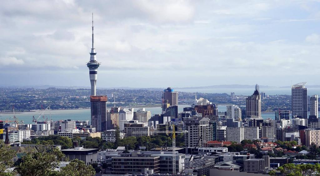Import a Car From New Zealand Auckland Skyline Skytower