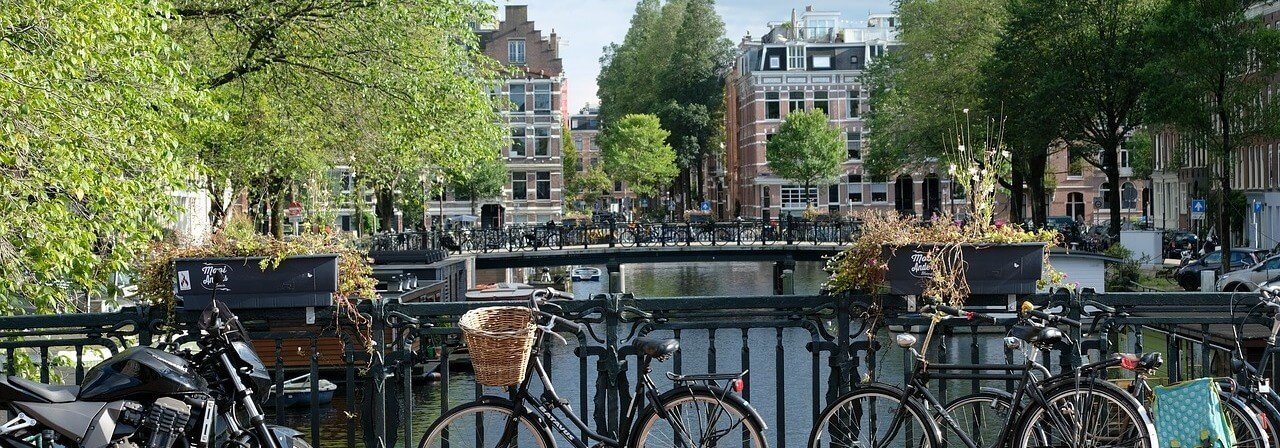 Moving to the Netherlands Amsterdam Canal Panoramic Holland