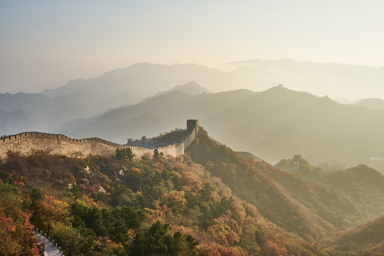 Plan Moving to China from USA Great Wall of China Mountain