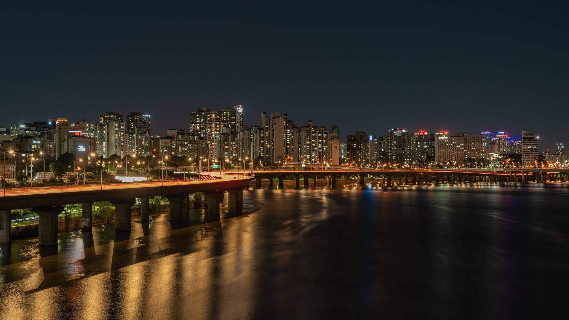 Shipping Cars to South Korea Bridge Water Seoul