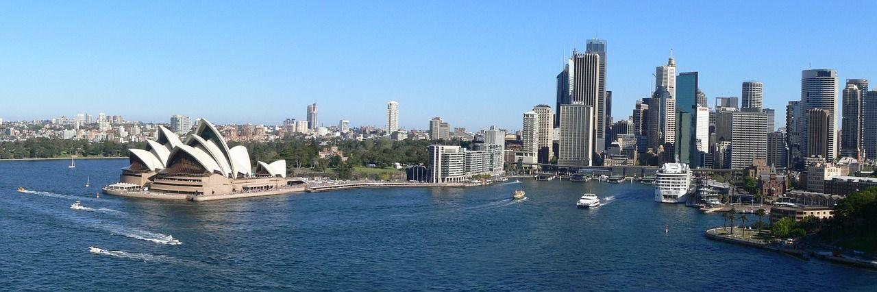 Moving to Australia from the USA Sydney Opera House Ocean Panoramic