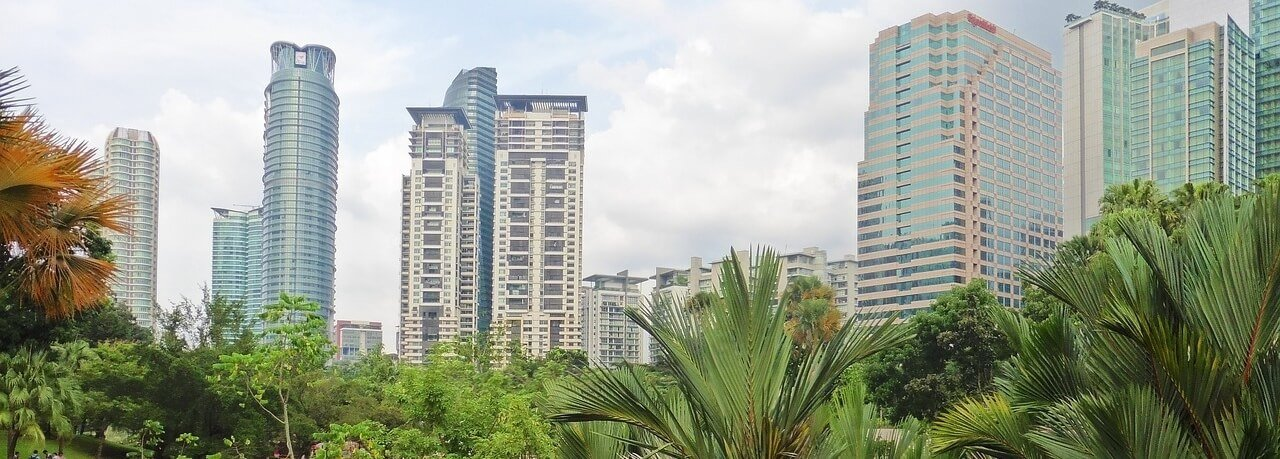 Moving to Malaysia Kuala Lumpur Building Panorama