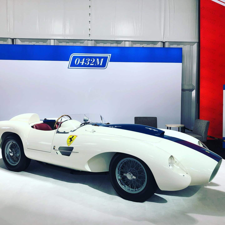 White Ferrari 0432M Side