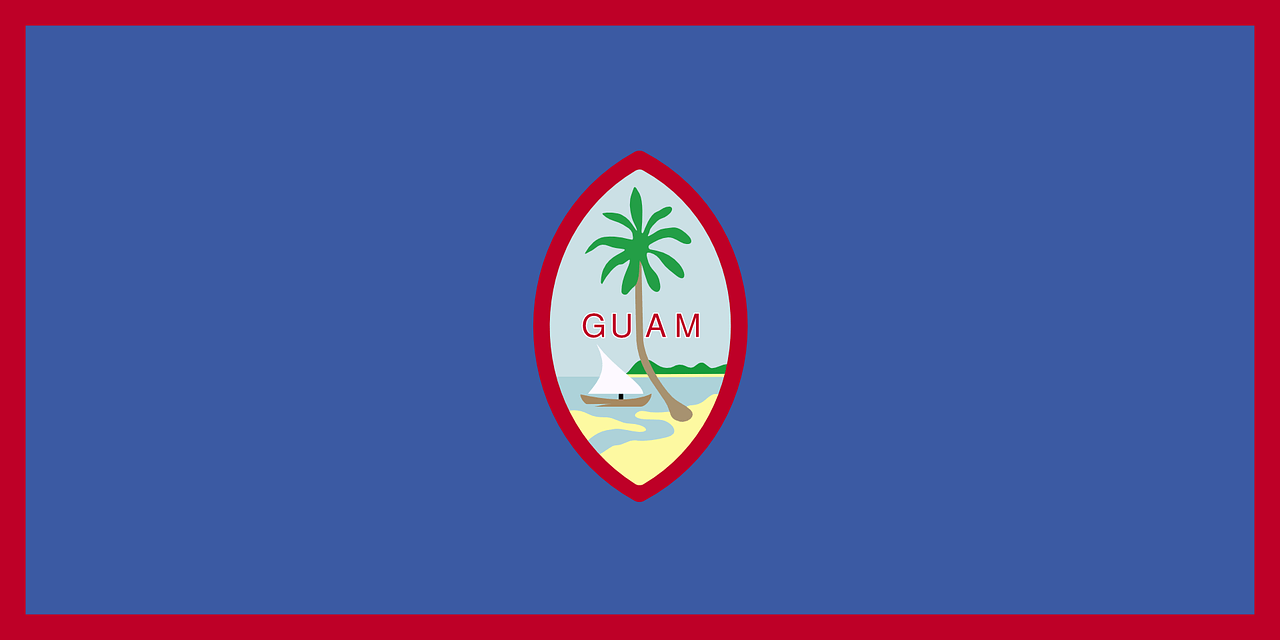 Shipping a Car to Guam Flag Micronesia US Territory