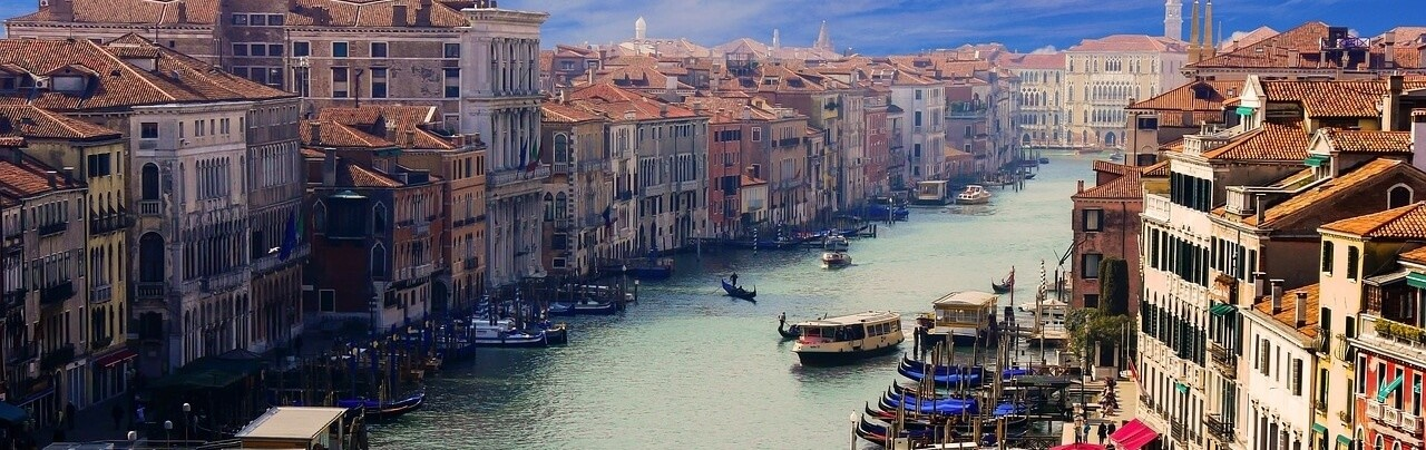 Living in Italy Pros and Cons Venice Canal Waterway