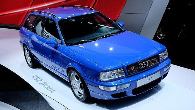 Audi_RS2_Avant_ Blue Audi 80