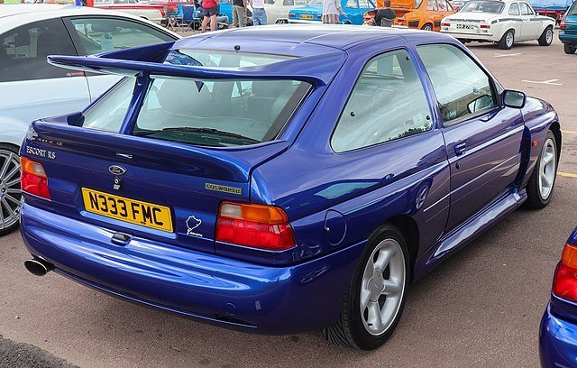 Ford Escort RS Cosworth Whale Tail Wing