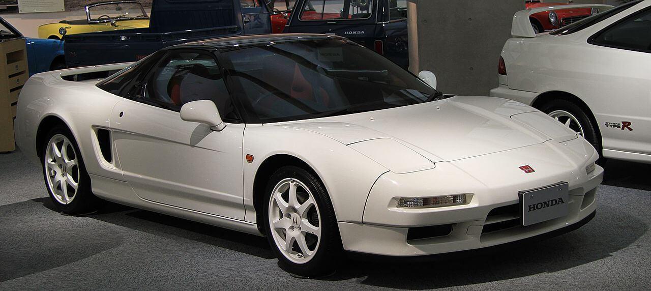 Honda_NSX_Type_R White NSXR