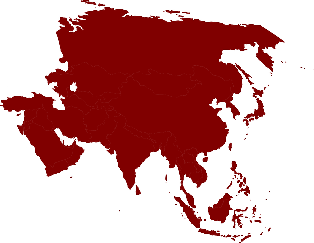 Moving to Asia Map of Asia Continent and Countries