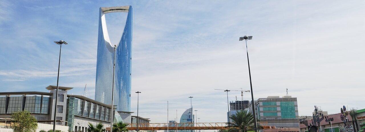 Shipping A Car to Saudi Arabia Riyadh Skyline