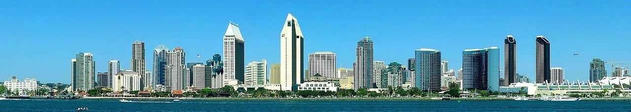International Moving San Diego Skyline Panoramic